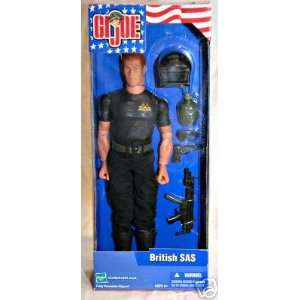 GI JOE 12 Special Air Service (SAS) Figure Everything