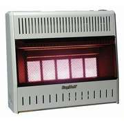 World Marketing 25,000 BTU Propane Wall Space Heater with Choice of