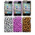 Leopard Skin Apple iPod Touch 4 Rhinestone Case