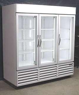 Beverage Air Three Glass Door Cooler Merchandiser