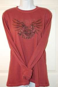 Harley Davidson Shirt XL Thermal Top AZ