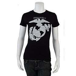 Los Angeles Pop Art Womens US Marine T shirt