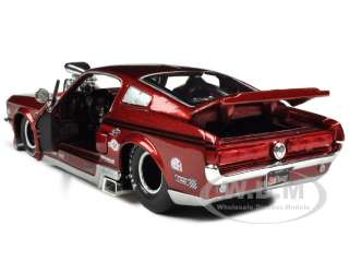 scale diecast car model of 1967 Ford Mustang GT Pro Street With Blower