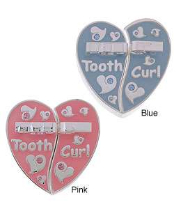 Toddot Babys Silver Plated First Tooth & Curl Heart Keepsake Box