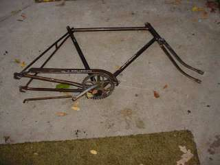 SCHWINN COLLEGIATE ROAD BIKE FRAME TALL VINTAGE 1972