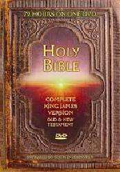 Holy Bible King James Version   Complete Bible (DVD)