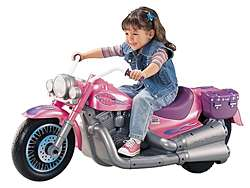 Mattels Harley Davidson Pink Power Wheels