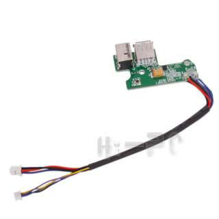 New DC IN Power Jack & USB Port Board with Cable for HP Pavilion