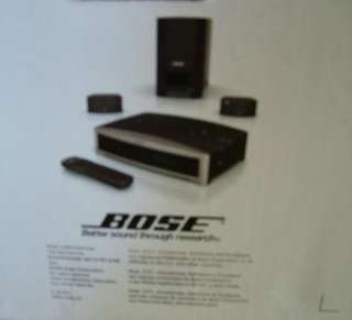 Bose 321 GS Series III Home Theater Entertainment System 3 2 1