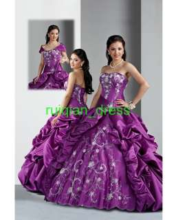 Ball Gown Wedding Prom Party Ball Quinceanera Dresses