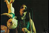 ALICE COOPER POSTER Live on Stage Doll Early Years NEW