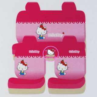 10 pcs Sanrio KITTY CAR SEAT COVERS FA094 42