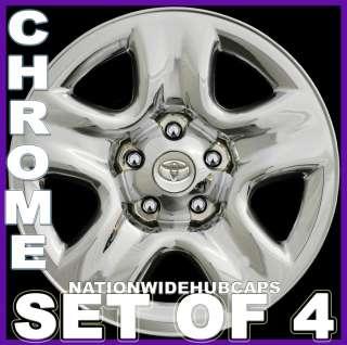 Toyota CHROME Wheel Skins Full Hub Caps Covers 5 Spoke Steel Wheels