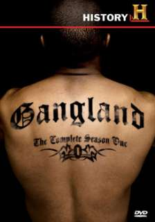 Gangland   Complete Season 1   4 Disc Set (DVD)