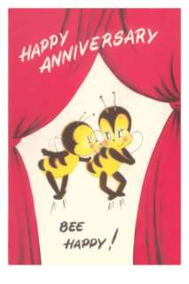 Happy Anniversary, Bee Happy Posters at AllPosters