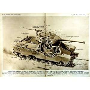 1950 DRAWING COMPOSITE TANK DIAGRAM FEATURES DESIGN