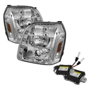 Carpart4u 6000K Xenon HID Performance Headlights Package for GMC Yukon