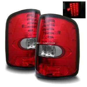 04 07 Ford F150 Styleside LED Tail Lights   Red Clear Automotive