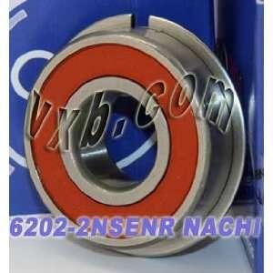 6202 2NSENR Nachi Bearing Sealed C3 Snap Ring Japan
