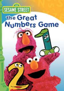 Sesame Street   The Great Numbers Game (DVD)