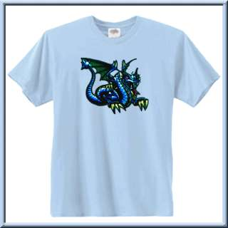 Light blue t shirts are only available in sizes S   5X.