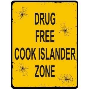 New  Drug Free / Cook Islander Zone  Cook Islands