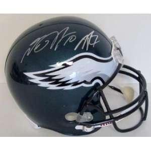 Signed Michael Vick Helmet   DeSean Jackson Dual FS JSA   Autographed
