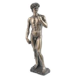 Figurine King David Cold Cast Bronze