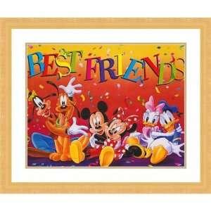 Art Mickey and Friends Best Friends