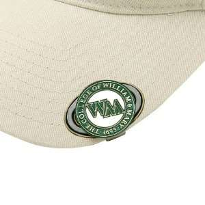 William & Mary Tribe Golfers Hat Clip & Magnetic Ball