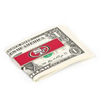 San Francisco 49ers NFL Football Logo Money Clip NIB
