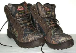 Brahma Mens Nine Point Camo Camouflage Insulated Hunting Boots