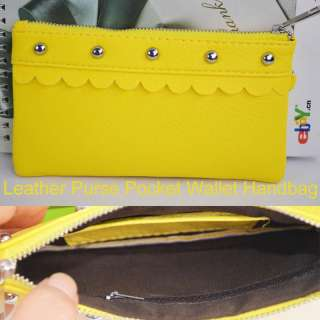 NW Leather Strap Coin Purse Pocket Wallet Handbag FZ362