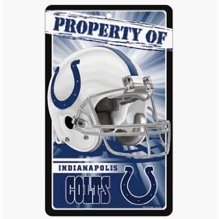 Indianapolis Colts Sign   Property Of Sign *SALE* Sports