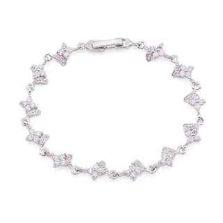 Carat Bridal CUBIC ZIRCONIA TENNIS BRACELET Y2491