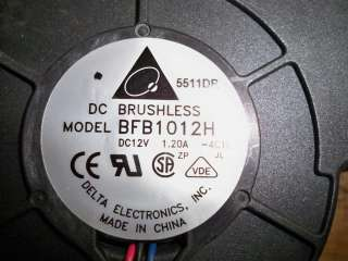 Delta BFB1012H 12V DC Brushless Fan 5511DR 357829 001