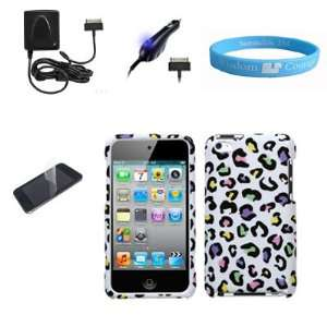 Attractive Rubberized Dog Paw Case for 4th Generation Apple iPod