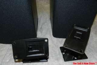 SB 3 SB3 Bookshelf Speakers Surround Sound Home Theater w/ wallmounts
