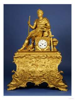 Emperor Seated on a Square Clock Case Giclee Print at AllPosters