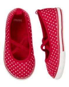 GYMBOREE VALENTINES DAY RED DOT TENNIS SHOE 3 4 6 7 10