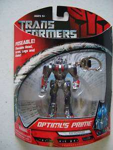 TRANSFORMERS OPTIMUS PRIME KEYCHAIN *NEW* 014397014502