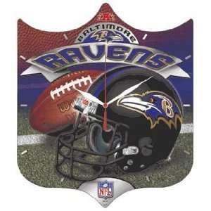 NFL Baltimore Ravens High Definition Clock