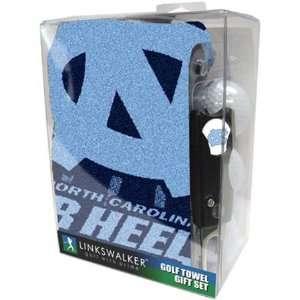 North Carolina Tar Heels UNC NCAA Golf Towel Gift Pack