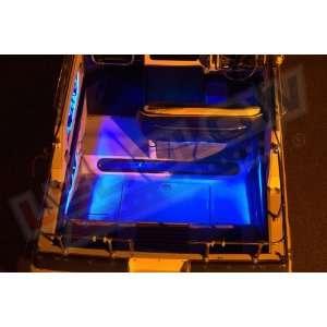 8pc Blue LED Boat Deck & Cabin Lighting Kit:  Sports