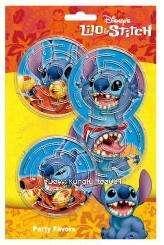 Disney Lilo & Stitch Birthday Party Toy Maze Games 4pcs