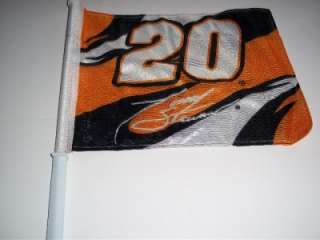 NASCAR TONY STEWART 20 CAR FLAG AUTO TRUCK RACE
