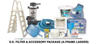 Filter & Accessory Package for Above Ground Swimming Pools CHOICE