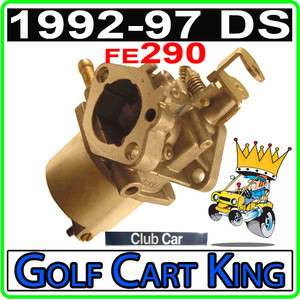 Club Car DS 1992 97 FE290 Golf Cart Carburetor 1016478