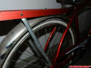 Vintage Hiawatha Gamble Red & White Tank Balloon Tire Bicycle Bike 24