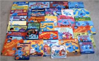 Blues Clues, 23 VHS, 33 Books & 1 cassette
